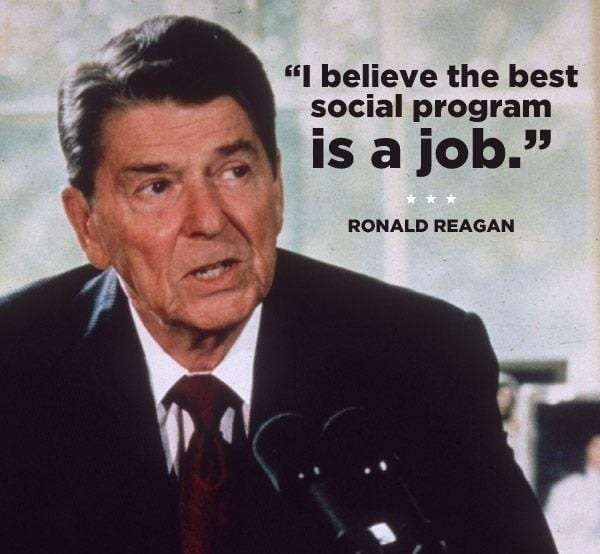 Ronald Reagan Quotes Inspiration Abraham Lincoln And Ronald Reagan Job Quotes Healthcare IT Today