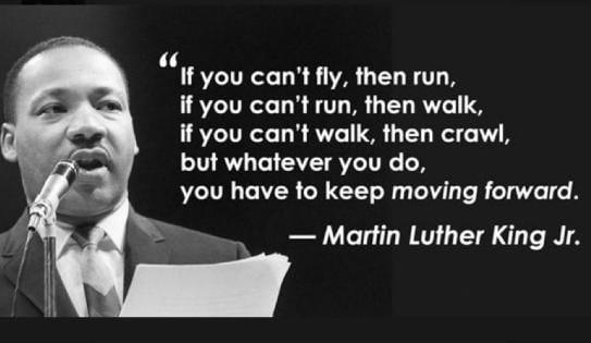 Martin Luther King - Career Quote
